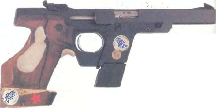 Германия: пистолет СПОРТИВНЫЙ ПИСТОЛЕТ ВАЛЬТЕР GSP-C - фото, описание, характеристики, история