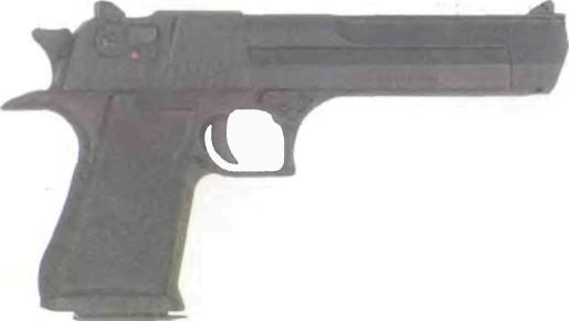 Израиль: пистолет IMI ДЕСЕРТ ИГЛ - фото, описание, характеристики, история