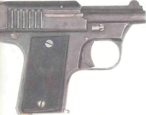 Испания: пистолет Карманный Бернедо калибра 6,35 мм - фото, описание, характеристики, история