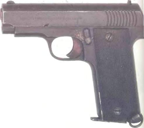 Испания: пистолет ГАБИЛОНДО РУБИ - фото, описание, характеристики, история