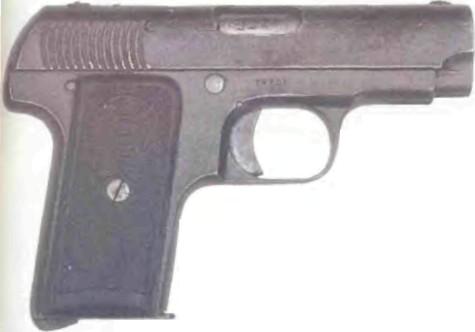 Испания: пистолет УНСЕТА ВИКТОРИЯ, МОДЕЛЬ 1911 - фото, описание, характеристики, история