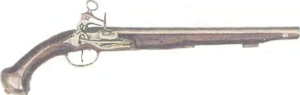 Испания: пистолет КРЕМНЕВЫЙ XVI ВЕКА - фото, описание, характеристики, история