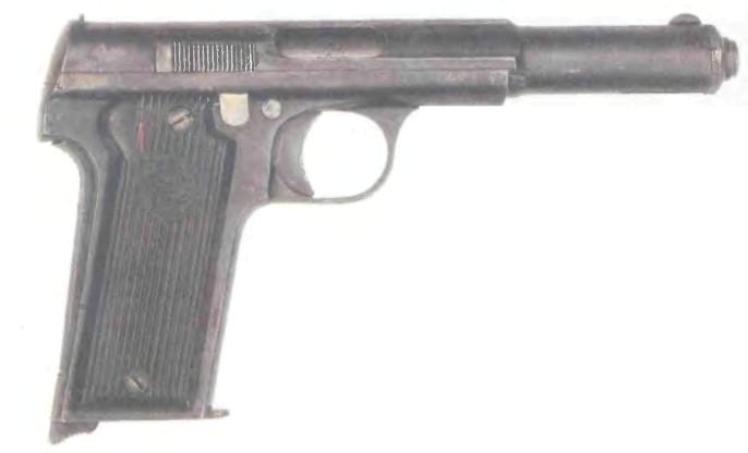 Испания: пистолет УНСЕТА АСТРА 400 - фото, описание, характеристики, история