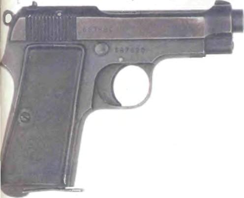 Италия: пистолет БЕРЕТТА, МОДЕЛЬ 1934 - фото, описание, характеристики, история