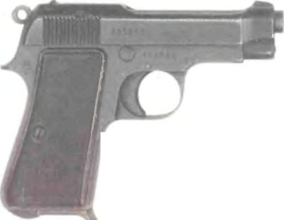 Италия пистолет беретта м0дель 1935