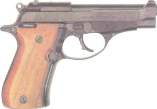 Италия: пистолет БЕРЕТТА, МОДЕЛЬ 81 - фото, описание, характеристики, история
