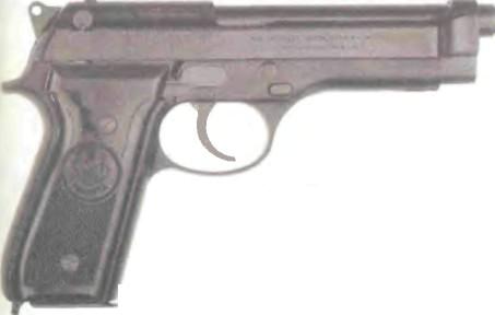 Италия: пистолет БЕРЕТТА, МОДЕЛЬ 92/92S КАЛИБРА 9 мм - фото, описание, характеристики, история
