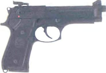 Италия: пистолет БЕРЕТТА М9 АРМИИ США (МОДЕЛЬ 92SB/92F) - фото, описание, характеристики, история