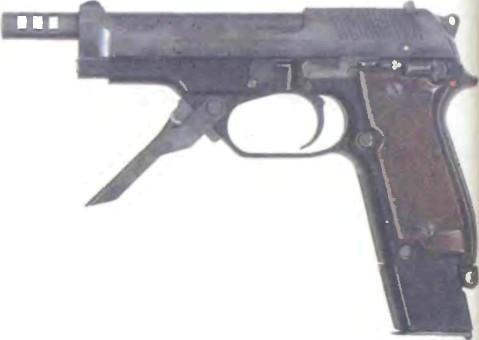 Италия: пистолет БЕРЕТТА, МОДЕЛЬ 93R КАЛИБРА 9 мм - фото, описание, характеристики, история
