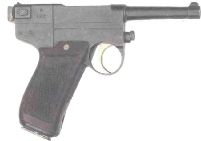 Италия: пистолет ГЛИЗЕНТИ, М0ДЕЛЬ 1910 - фото, описание, характеристики, история