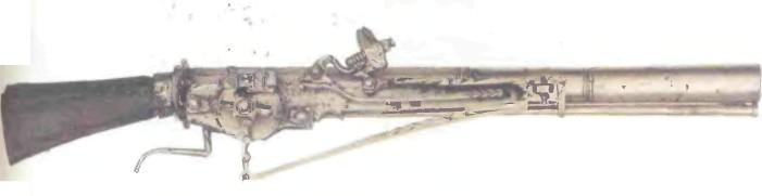 Италия: пистолет КОЛЕСЦОВЫЙ - фото, описание, характеристики, история