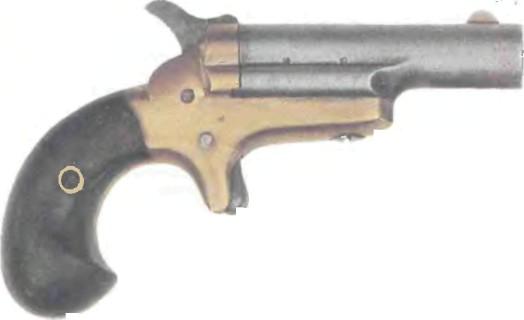 США: пистолет КОЛЬТ ДЕРРИНДЖЕР №3 - фото, описание, характеристики, история