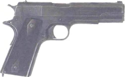 США: пистолет КОЛЬТ ПРАВИТЕЛЬСТВЕННЫЙ М1911 КАЛИБРА .45 - фото, описание, характеристики, история