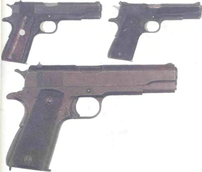 США: пистолет КОЛЬТ ПРАВИТЕЛЬСТВЕННЫЙ М1911А1 - фото, описание, характеристики, история