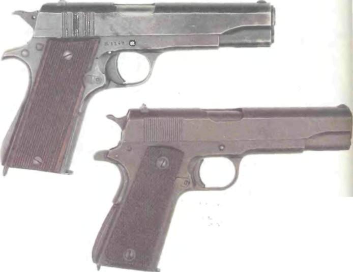США: пистолет КОЛЬТ М1911/1911А1 - фото, описание, характеристики, история