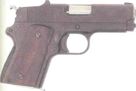 США: пистолет ДЕТОНИКС КОМБАТ МАСТЕР МК 1 - фото, описание, характеристики, история