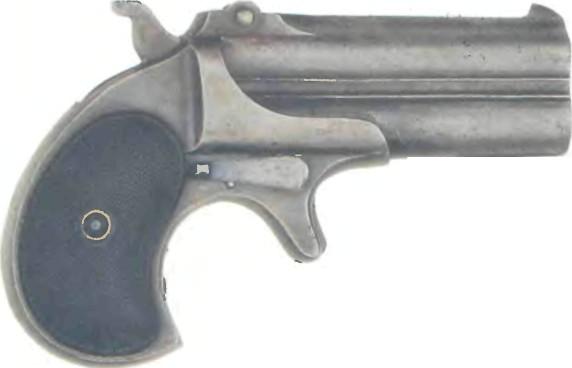 США: пистолет ДВУСТВОЛЬНЫЙ РЕМИНГТОН ДЕРРИНДЖЕР - фото, описание, характеристики, история