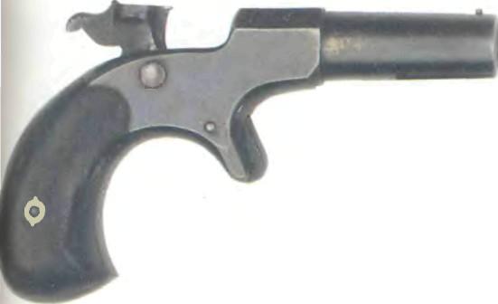США: пистолет РЕМИНГТОН ДЕРРИНДЖЕР - фото, описание, характеристики, история