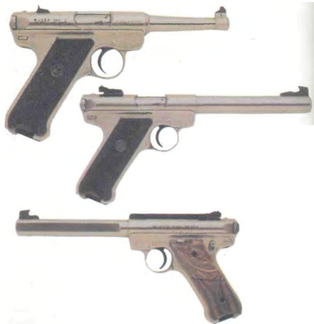 США: пистолет ЦЕЛЕВОЙ РУГЕР МК II ПРАВИТЕЛЬСТВЕННЫЙ - фото, описание, характеристики, история