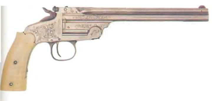 США: пистолет ОДНОЗАРЯДНЫЙ СМИТ-ВЕССОН, МОДЕЛЬ 91 - фото, описание, характеристики, история