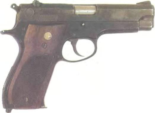США: пистолет СМИТ-ВЕССОН, МОДЕЛЬ 39 - фото, описание, характеристики, история
