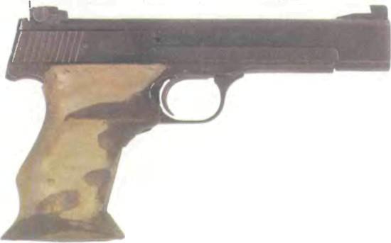 США: пистолет СМИТ-ВЕССОН, МОДЕЛЬ 41 - фото, описание, характеристики, история