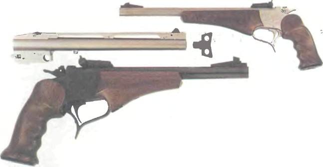 США: пистолет ЦЕЛЕВОЙ ТОМПСОН / СЕНТЕР НОНТЕНДЕР - фото, описание, характеристики, история