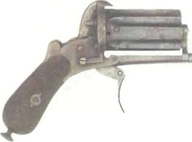 Франция: пистолет КУЛАК ЛЕФОШЕ - фото, описание, характеристики, история