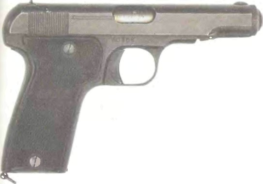 Франция: пистолет MAB, МОДЕЛЬ D - фото, описание, характеристики, история
