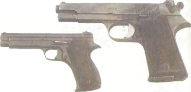 Франция: пистолет СЕНТ-ЭТЬЕН (MAS), МОДЕЛЬ 1935A/1935S, КАЛИБРА 7,65 ММ - фото, описание, история