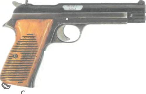 Швейцария: пистолет SIG, Р-210 (М0ДЕЛЬ 1949) - фото, описание, характеристики, история