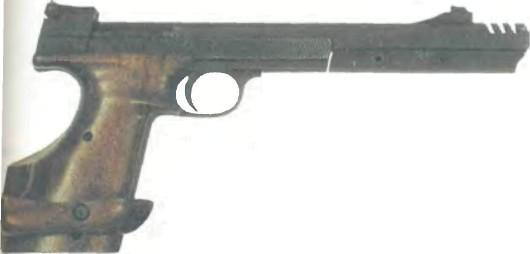 Швейцария: пистолет СПОРТИВНЫЙ ХЭММЕРЛИ, МОДЕЛЬ 208 - фото, описание, характеристики, история