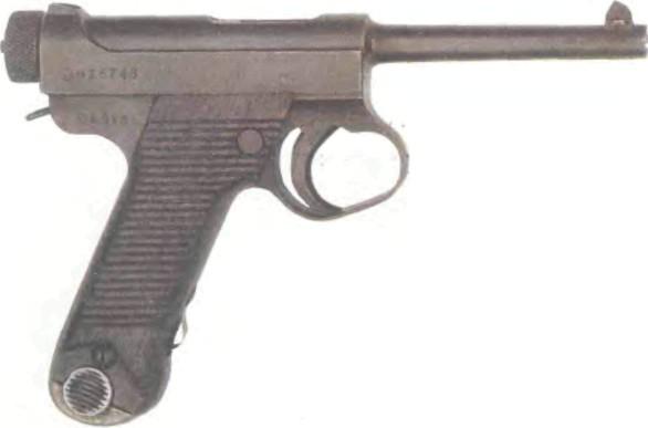 Япония: пистолет НАМБУ 14-ГО ГОДА КАЛИБРА 8 мм - фото, описание, характеристики, история