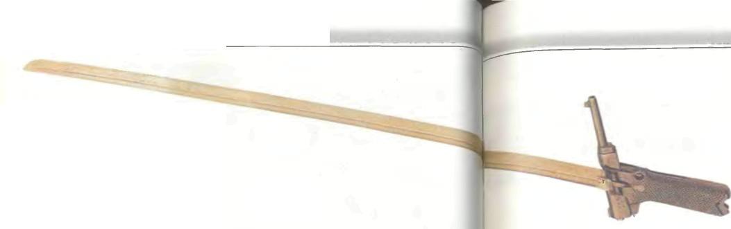 Япония: пистолет МЕЧ НАМБУ 14-ГО ГОДА КАЛИБРА 8 ММ - фото, описание, характеристики, история