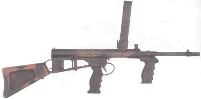 Австралия: пистолет-пулемет АВТОМАТИЧЕСКИЙ КАРАБИН ОУЭНА - фото, описание, характеристики, история