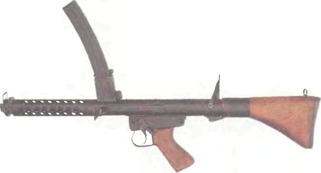 Австралия: пистолет-пулемет F1 - фото, описание, характеристики, история
