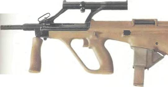 Австрия: пистолет-пулемет ШТЕЙЕР AUG КАЛИБРА 9 мм - фото, описание, характеристики, история