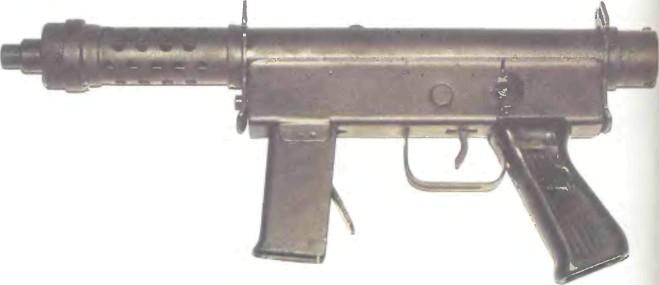 Бразилия: пистолет-пулемет УРУ, МОДЕЛЬ 2 - фото, описание, характеристики, история