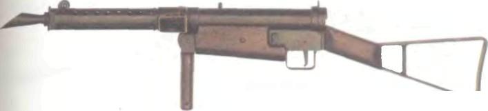 Великобритания: пистолет-пулемет СТЭН МК1 - фото, описание, характеристики, история