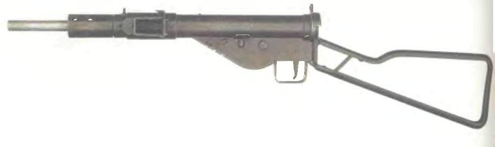 Великобритания: пистолет-пулемет СТЭН МК 2 (канадская версия) - фото, описание, история
