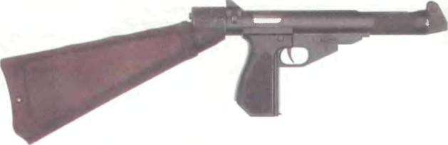 Великобритания: пистолет-пулемет МСЕМ 2 - фото, описание, характеристики, история