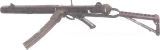 Великобритания: пистолет-пулемет СТЕРЛИНГ L34A1 С ГЛУШИТЕЛЕМ - фото, описание, история