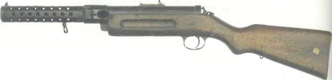 Германия: пистолет-пулемет БЕРГМАН МР 18.1 - фото, описание, характеристики, история