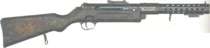 Германия: пистолет-пулемет БЕРГМАН МР 28.ll - фото, описание, характеристики, история