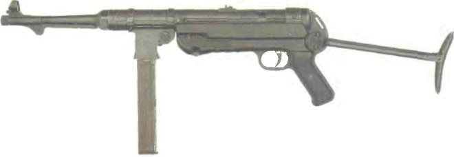 Германия: пистолет-пулемет МР 40 («ШМАЙССЕР») - фото, описание, характеристики, история