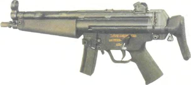 Германия: пистолет-пулемет ХЕКЛЕР И КОХ МР5 - фото, описание, характеристики, история