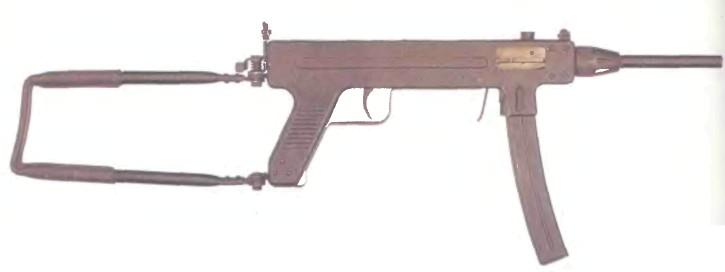 Дания: пистолет-пулемет МАДСЕН, МОДЕЛЬ 50 - фото, описание, характеристики, история