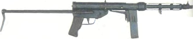 Италия: пистолет-пулемет TZ 45 - фото, описание, характеристики, история
