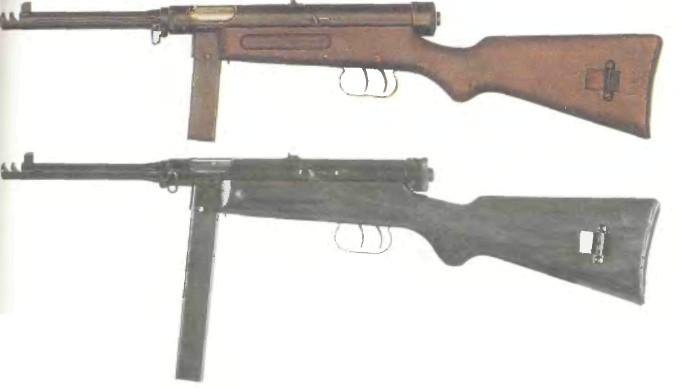 Италия: пистолет-пулемет БЕРЕТТА, МОДЕЛЬ 38/42 - фото, описание, характеристики, история