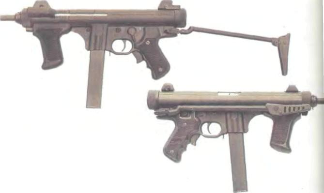 Италия: пистолет-пулемет БЕРЕТТА, М0ДЕЛЬ 12 - фото, описание, характеристики, история